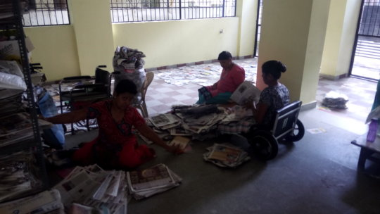 paper covers making