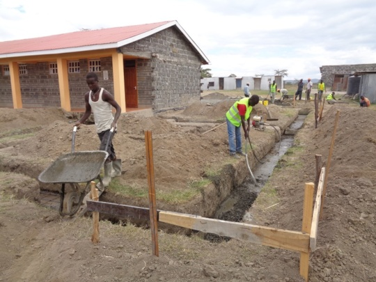 7th Classroom Construction