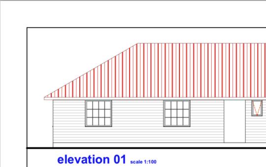 Blueprints of the LLK Vocational Training School