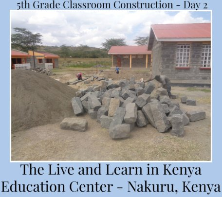 5th Grade Classroom Construction - Day 2