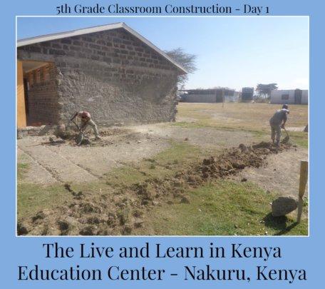 5th Grade Classroom Construction - Day 1