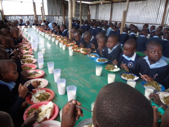 Lunchtime at the LLK Education Center