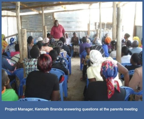 Project Manager - Kenneth Branda and parents
