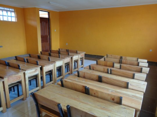 The 5th classroom at the LLK Primary School