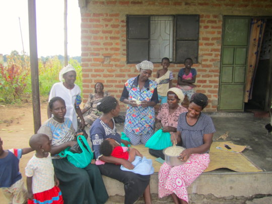 Iganga cooperative learning about chicken feeds