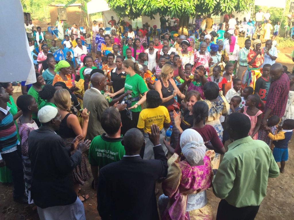 Community and staff celebrate the new initiative