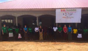 S.O.U.L. staff in front of the Community Center