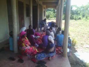 Agricultural class with a chicken cooperative