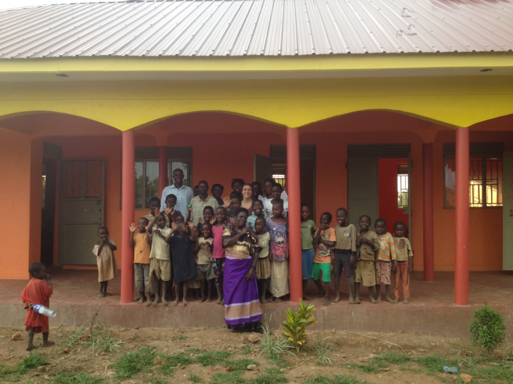 Iganga community members at the Community Center
