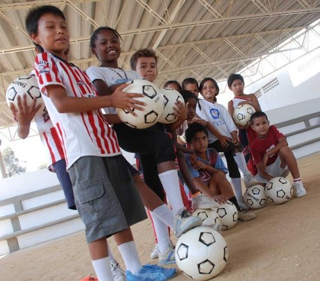 Transform the lives of children through soccer!