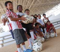 Transform the lives of children through soccer!