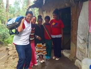 School supplies & home visit