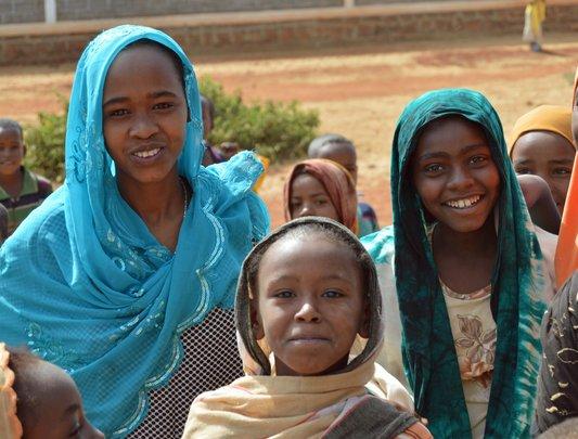 Send girls to school in Ethiopia