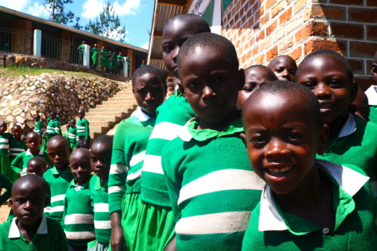 Kutamba Primary School Students at School