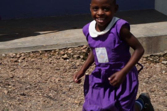 Nyaka Primary School Student