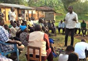 John the social worker leading the training