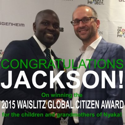 Jackson Won Thanks to YOU!