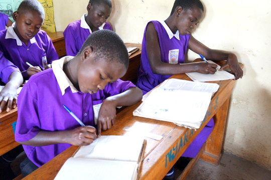 Students at Nyaka Primary School