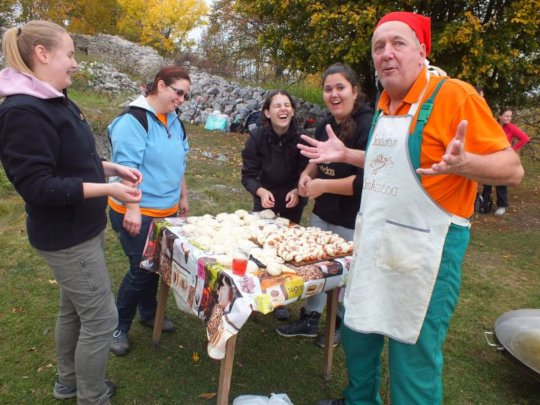 The Chef of Szadvar offers lunch