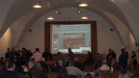 Presentation at Castrum Bene event