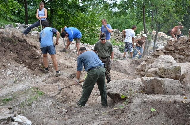 Digging, just digging