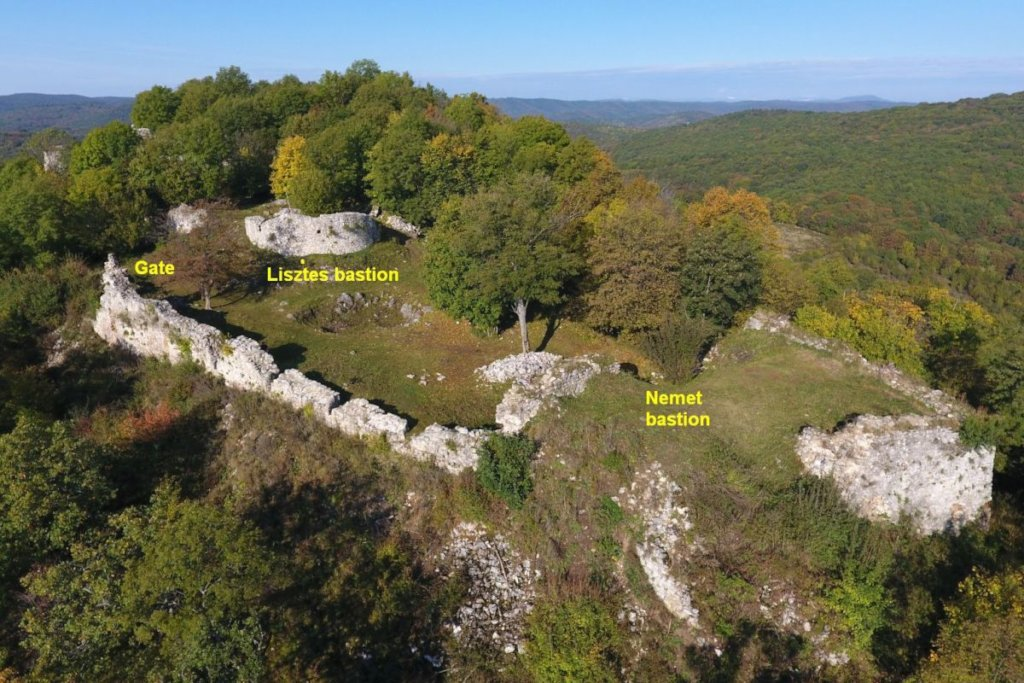 The Gate & Lisztes and Nemet bastions