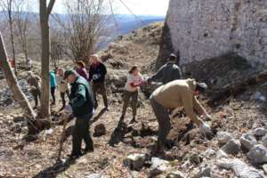Moving the stones to areas of conservation