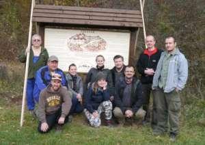 Szadvar information Sign renewed