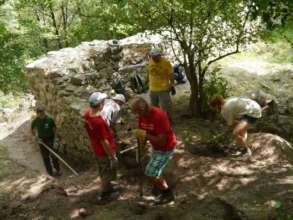 Volunteers from Torna (Slovakia)