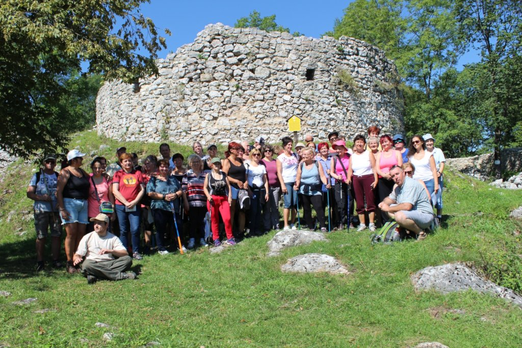 Visitors in Szadvar after the guided tour