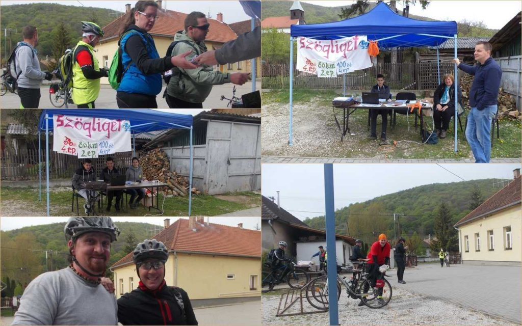 Szogliget checkpoint on the