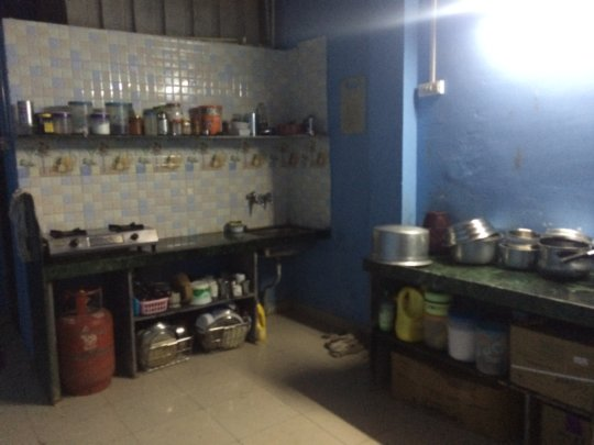 The kitchen your donations helped to build