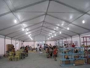 Inside the BigTop, a refuge for children