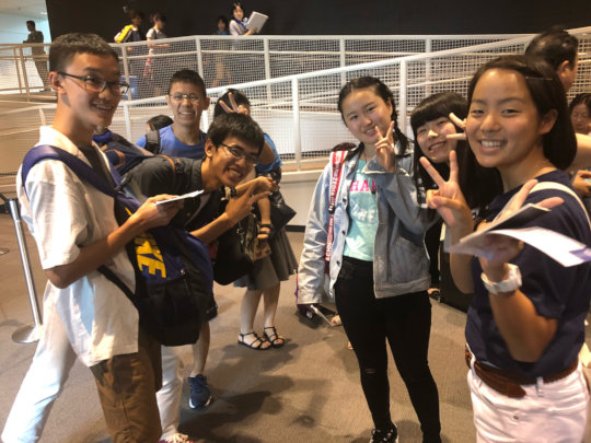 Students from Japan arrived in DC!