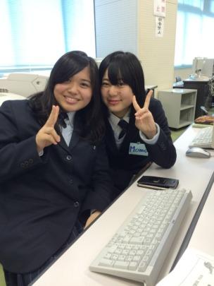 Students at Shiruichi High School in Hokkaido