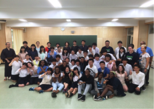 Students had an unforgettable experience together