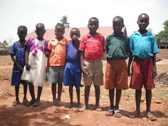 Primary 2 students pose for a photo