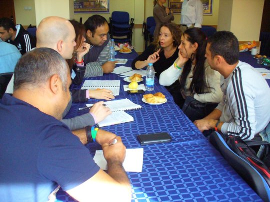 Discussion groups with lots of passion and ideas