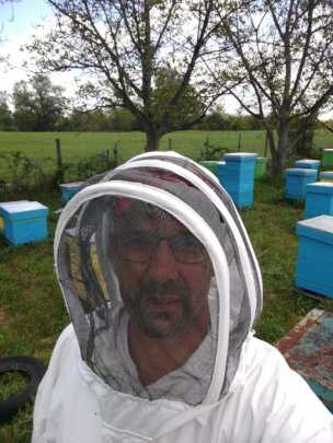 You helped this man to recover some of his bees