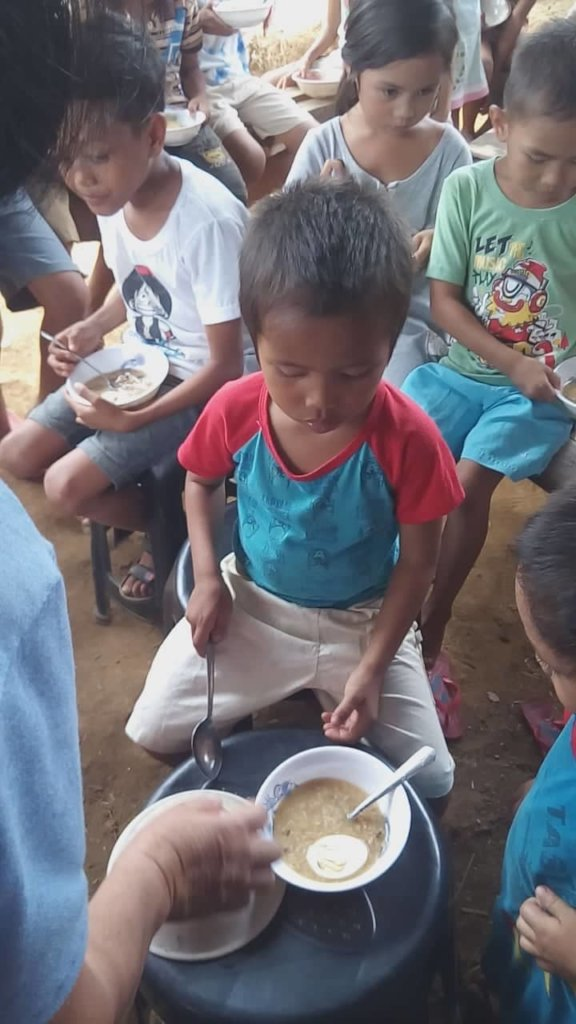 Ready to eat! (Little boy from Agusan)