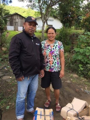 Bobby and Lorena of Kitaotao Bukidnon