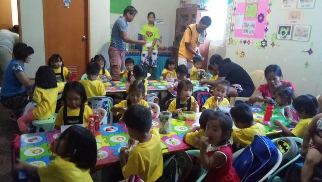 Preschoolers from Brgy. Tarece Day Care Center