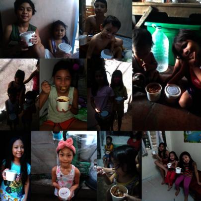 Kids at Bagumbayan QC