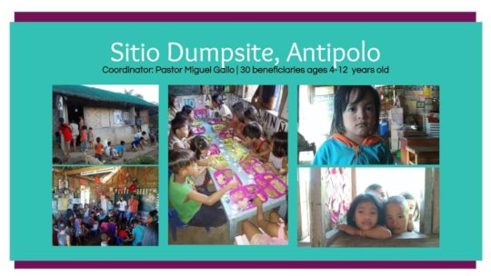 Sitio Dumpsite Antipolo launch