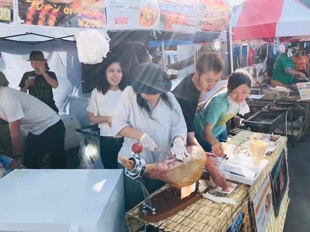 The biggest festival in Ishinomaki