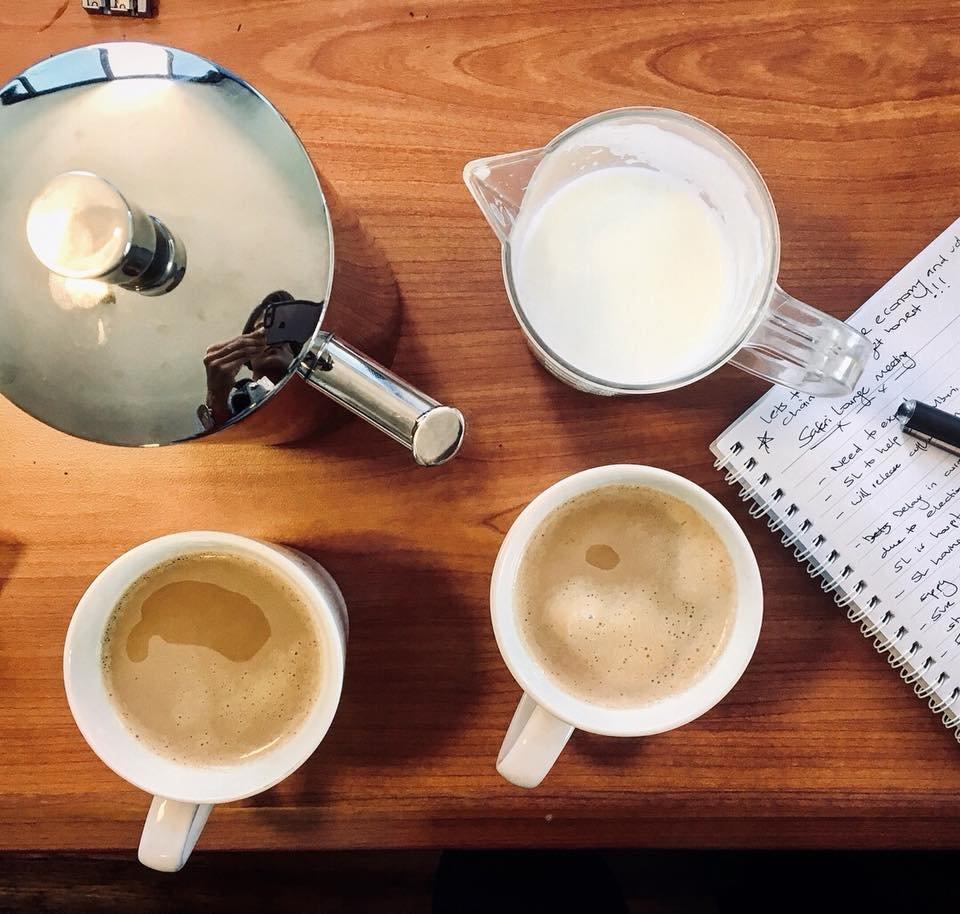 Coffee Meetings & Strategy