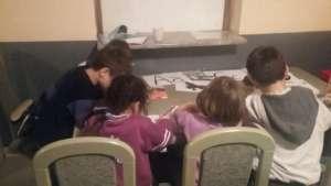 Workshops for children in Safe House