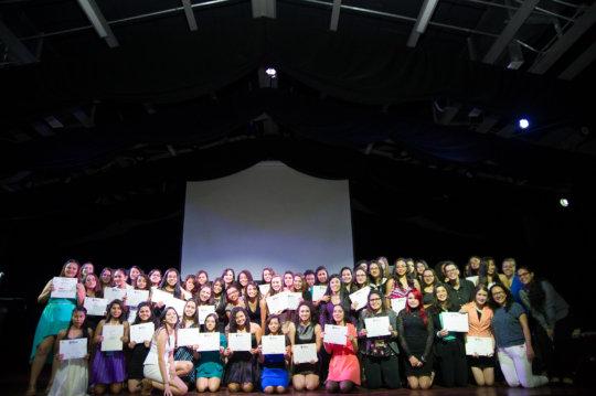 Graduation night for MenTe en Accion!