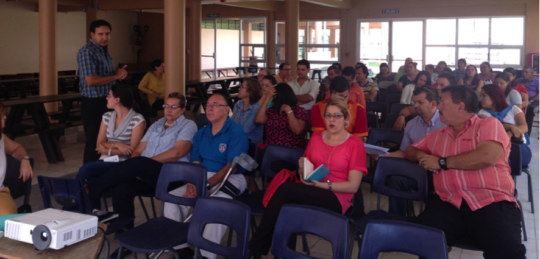 Teacher training Liceo Costa Rica
