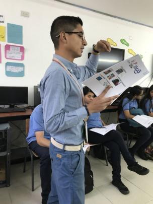 AFG - teacher Carlos Carballo